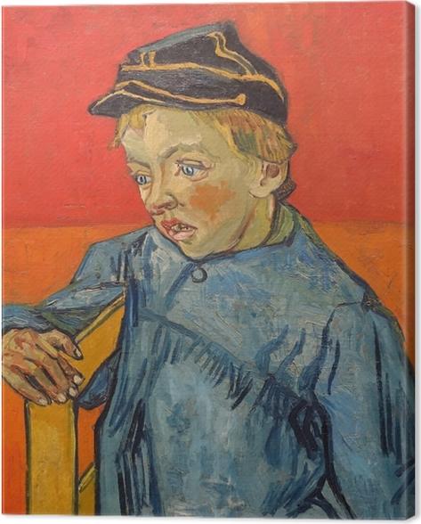 Obraz na płótnie Vincent van Gogh - Uczeń - Reproductions