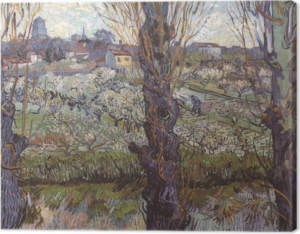 Obraz na płótnie Vincent van Gogh - Widok na Arles - Reproductions