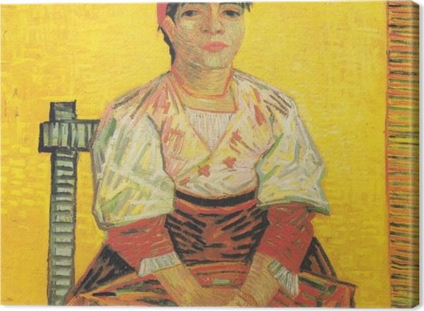 Obraz na płótnie Vincent van Gogh - Włoszka - Reproductions