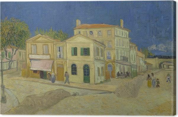 Obraz na płótnie Vincent van Gogh - Żółty Dom - Reproductions
