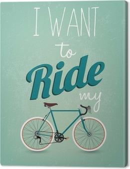 Obraz na płótnie Vintage Retro Bicycle