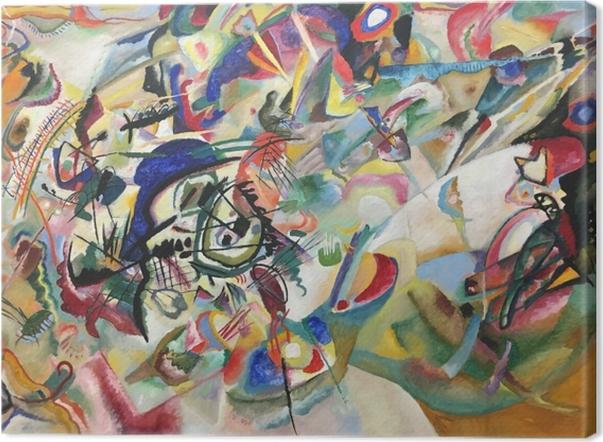 Obraz na płótnie Wassily Kandinsky - Kompozycja VII - Reprodukcje