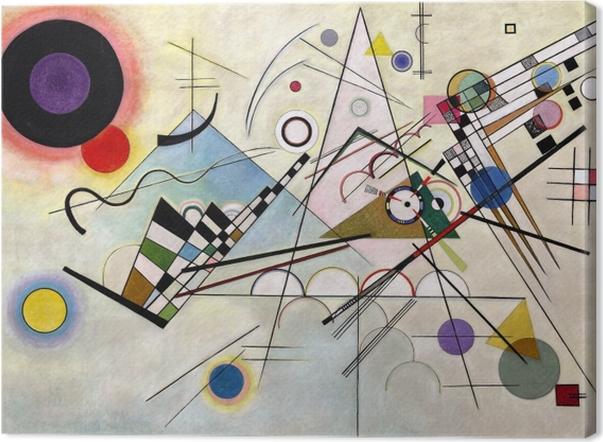 Obraz na płótnie Wassily Kandinsky - Kompozycja VIII - Reprodukcje