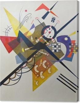Obraz na płótnie Wassily Kandinsky - Na białym tle II
