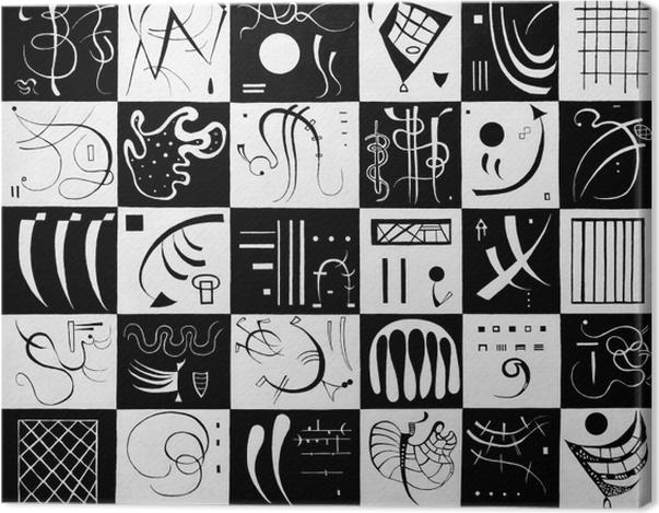 Obraz na płótnie Wassily Kandinsky - Trzydzieści - Reprodukcje