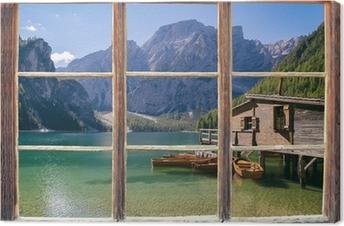 Obraz na płótnie Widok z okna