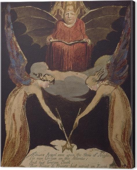 Obraz na płótnie William Blake - Jerozolima - Reprodukcje