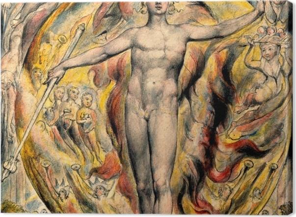 Obraz na płótnie William Blake - Mojżesz - Reprodukcje