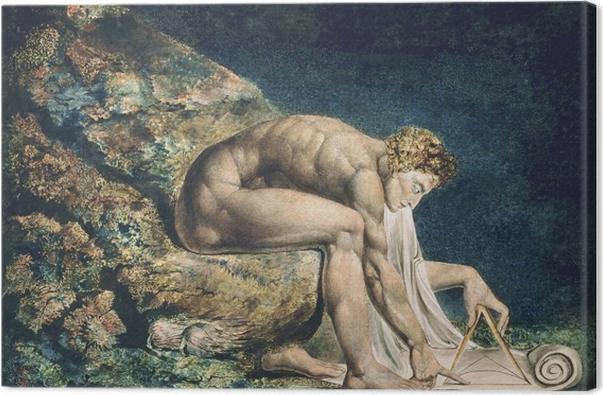 Obraz na płótnie William Blake - Newton - Reprodukcje