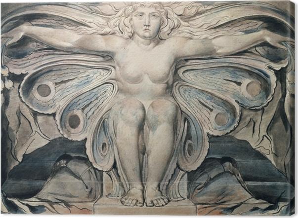Obraz na płótnie William Blake - Personifikacja grobu - Reprodukcje