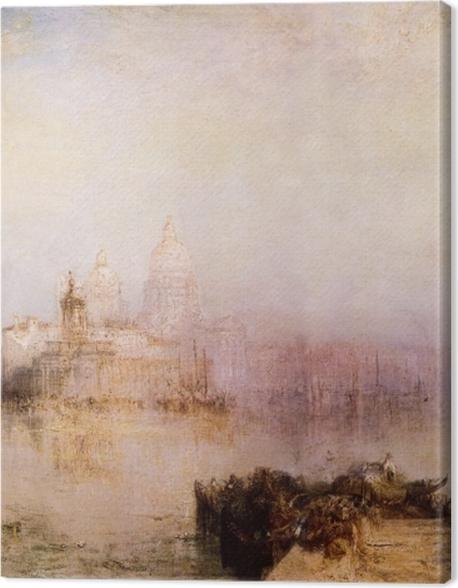 Obraz na płótnie William Turner - Dogana i Madonna della Salute - Reprodukcje
