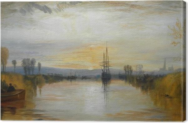 Obraz na płótnie William Turner - Kanał Chichester - Reprodukcje
