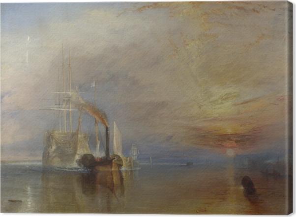 Obraz na płótnie William Turner - Ostatnia droga Temeraire'a - Reprodukcje
