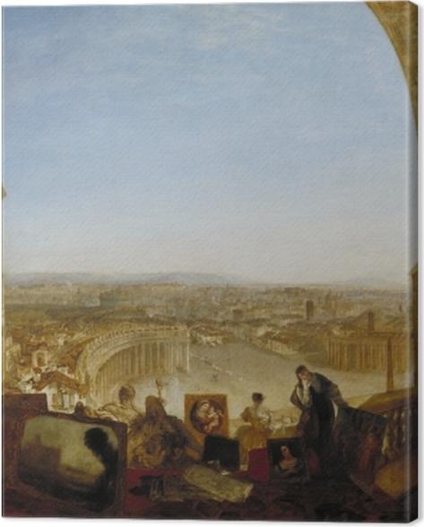 Obraz na płótnie William Turner - Rzym widziany od strony Watykanu - Reprodukcje