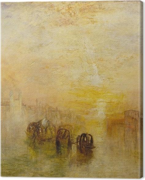 Obraz na płótnie William Turner - W drodze na bal (San Marino) - Reprodukcje