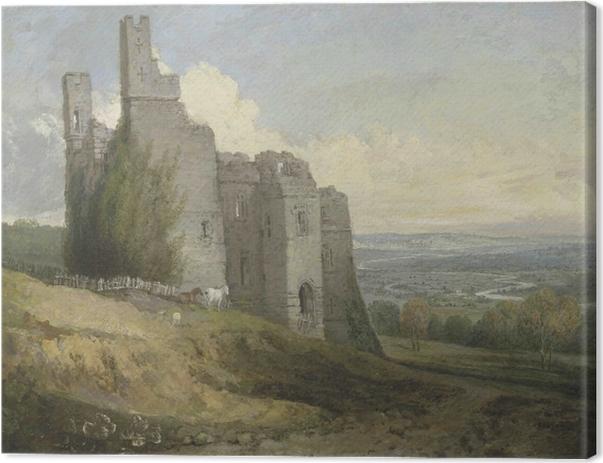 Obraz na płótnie William Turner - Zamek Conway - Reprodukcje