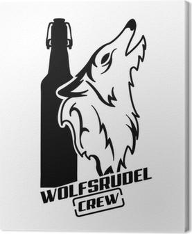 Obraz na płótnie Wolfsrudel Załoga