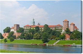 Obraz na płótnie Zamek Królewski na Wawelu, Kraków, Polska