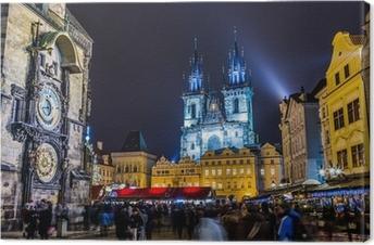 Obraz na płótnie Zegar astronomiczny Praga Czechy