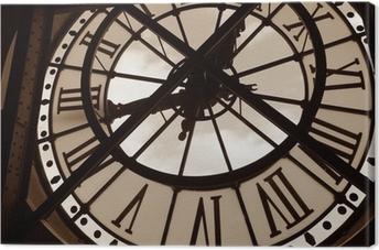 Obraz na płótnie Zegar w Muzeum orsay. Paryż, Francja
