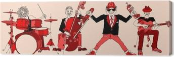 Obraz na płótnie Zespół jazzowy