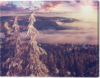 Obraz na płótnie Zima w Norwegii