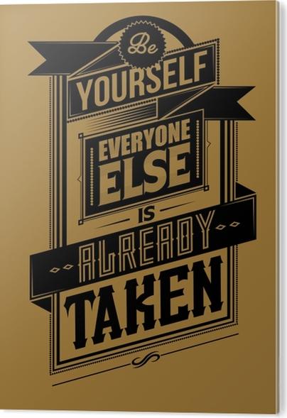 Obraz na PVC Motivační Plakát -