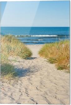 Obraz na szkle Dostęp do plaży