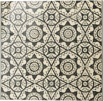 Obraz na szkle Płytki tło koronki 2