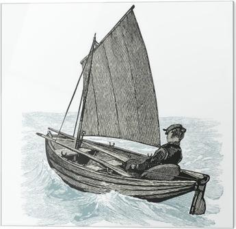Obraz na szkle Żaglowiec