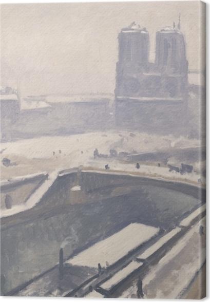 Obrazy premium Albert Marquet - Widok na Notre-Dame - Reproductions
