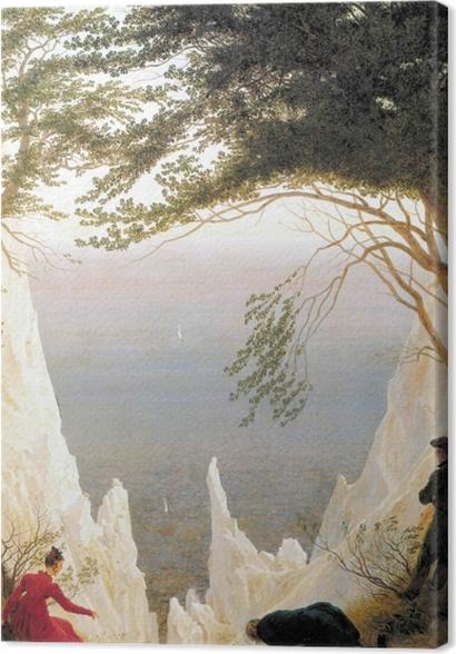 Obrazy premium Caspar David Friedrich - Skały kredowe na Rugii - Reproductions