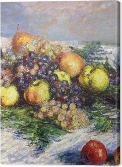 Obrazy premium Claude Monet - Gruszki i winogrona - Reprodukcje