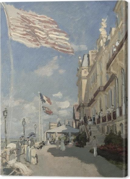 Obrazy premium Claude Monet - Hotel Roches Noires w Trouville - Reprodukcje