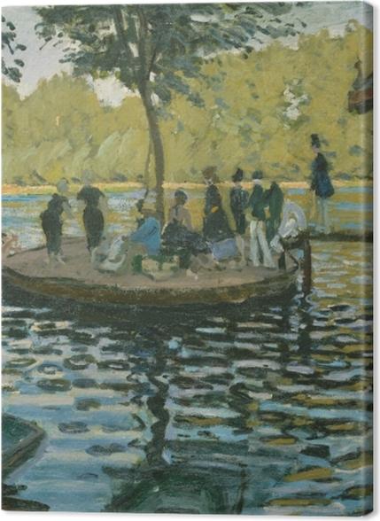 Obrazy premium Claude Monet - La Grenouillère - Reprodukcje