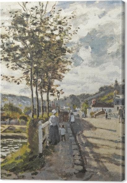 Obrazy premium Claude Monet - Most w Bougival - Reprodukcje