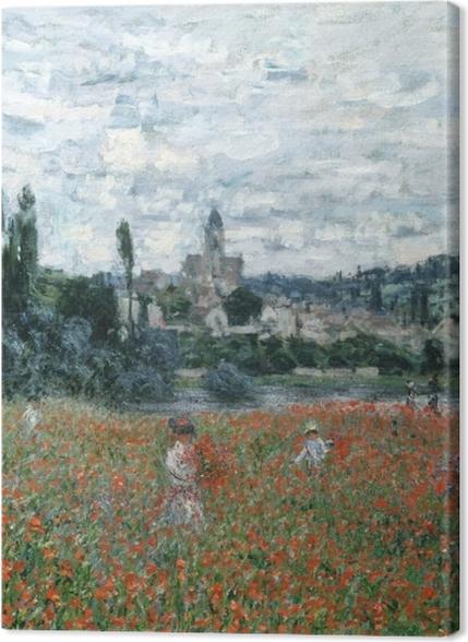 Obrazy premium Claude Monet - Pole maków - Reprodukcje