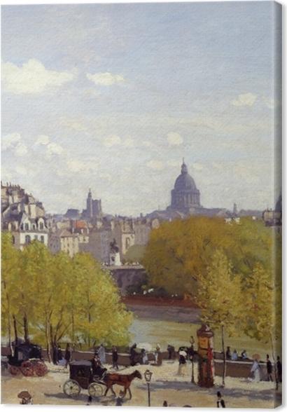 Obrazy premium Claude Monet - Quai du Louvre - Reprodukcje