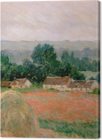 Obrazy premium Claude Monet - Stóg siana w Giverny - Reprodukcje