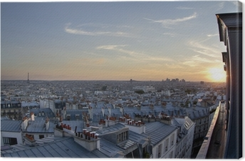 Obrazy premium Dachy Paryża