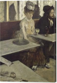 Obrazy premium Edgar Degas - Absynt