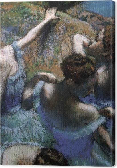 Obrazy premium Edgar Degas - Błękitne tancerki - Reprodukcje