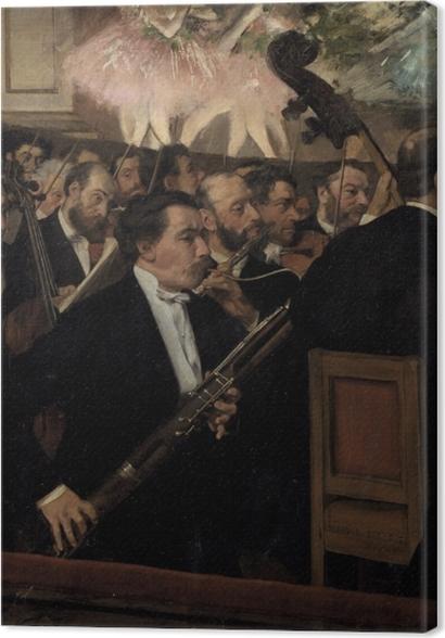 Obrazy premium Edgar Degas - Orkiestra Opery Paryskiej - Reprodukcje