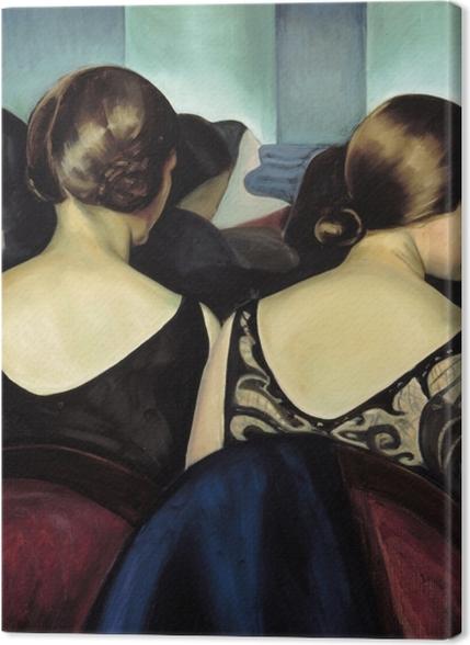 Obrazy premium Efa Prudence Heward - W teatrze - Reproductions
