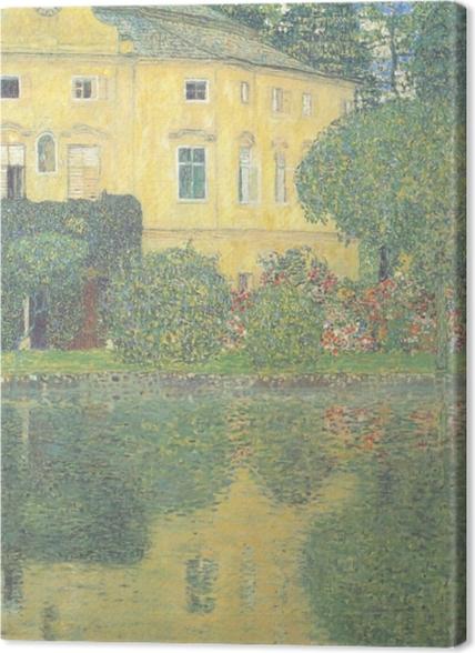 Obrazy premium Egon Schiele - Drzewa odbijające się w stawie - Reprodukcje