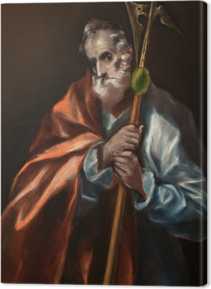 Obrazy premium El Greco - Apostoł Tadeusz - Reprodukcje