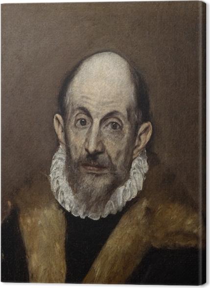 Obrazy premium El Greco - Portret starszego mężczyzny - Reprodukcje