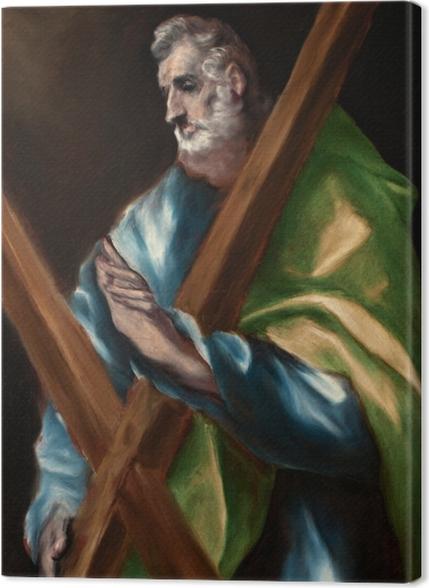Obrazy premium El Greco - Święty Andrzej - Reprodukcje