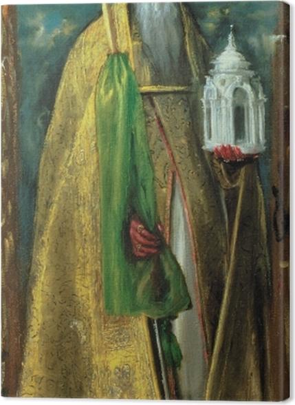Obrazy premium El Greco - Święty Augustyn - Reprodukcje