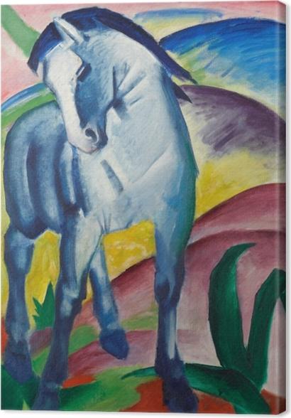Obrazy premium Franz Marc - Niebieski koń - Reproductions